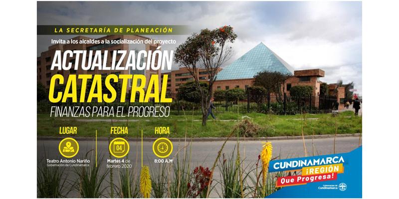 Alcaldes de 116 municipios a socialización del proyecto 'Finanzas para el Progreso'.